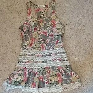 Veronica M short summer dress/long top
